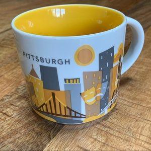 Starbucks You Are Here Collection Pittsburgh Mug